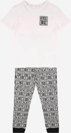 Calvin Klein Underwear Комплект пижама в черно / бяло, Преглед на продукта
