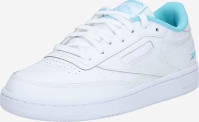 Reebok Classic Sneakers laag 'Club' in de kleur Azuur / Wit, Productweergave