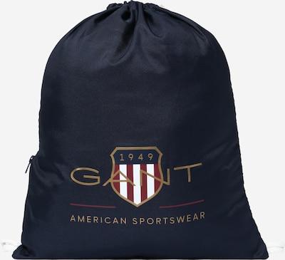 GANT Bolsa para gimnasio en azul oscuro / oro / rojo cereza / blanco, Vista del producto