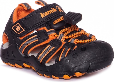 Kamik Sandale 'CRAB' in orange / schwarz, Produktansicht