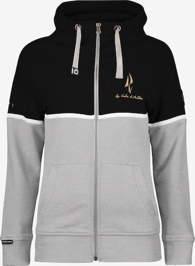 CODE-ZERO Sweatjacke in schwarz, Produktansicht