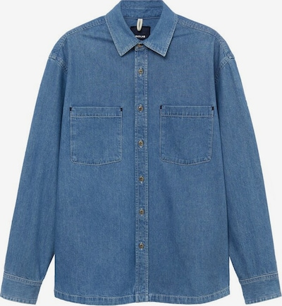 MANGO MAN Hemd 'Jim' in blue denim, Produktansicht