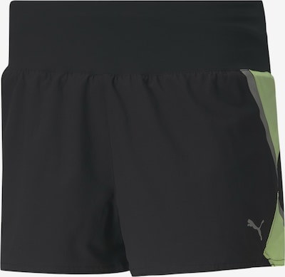 PUMA Laufshorts in schwarz, Produktansicht