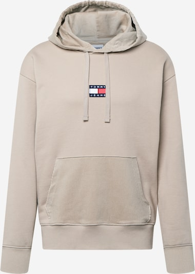 Tommy Jeans Sweatshirt in Beige / Navy / Red / White, Item view