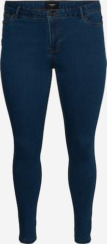 Vero Moda Curve Jeans 'Ludy' in Blue