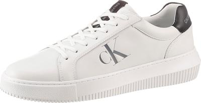 Calvin Klein Sneaker in silbergrau / schwarz / weiß, Produktansicht