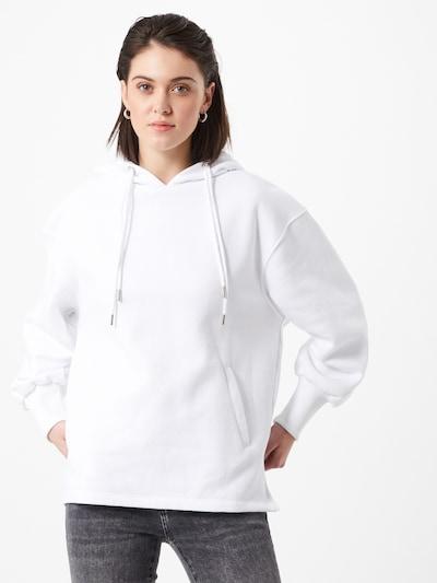 Megztinis be užsegimo iš NU-IN , spalva - balta, Modelio vaizdas