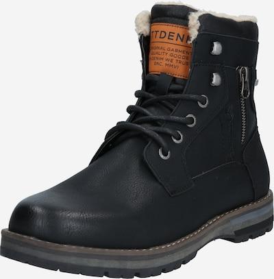 Auliniai batai su raišteliais iš TOM TAILOR DENIM , spalva - juoda, Prekių apžvalga