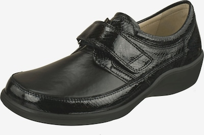 Natural Feet Klettschuhe in grau: Frontalansicht