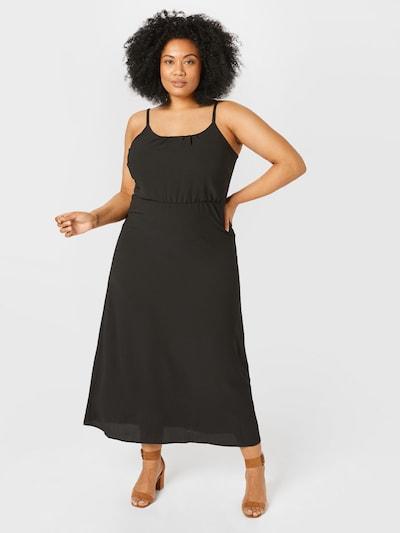Vero Moda Curve Kleid 'SASHA' in schwarz, Modelansicht