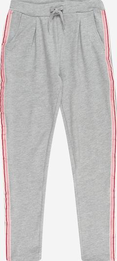 Pantaloni 'VIALA' NAME IT pe gri amestecat / roz / roz pitaya / alb, Vizualizare produs
