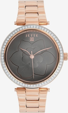 JETTE Analoguhr in Gold