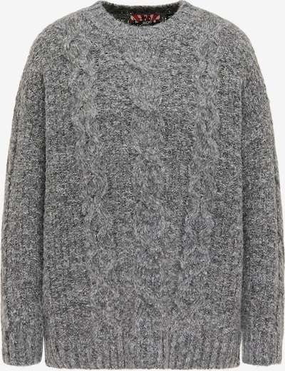 myMo ROCKS Sweater in Light grey / Dark grey / mottled grey, Item view