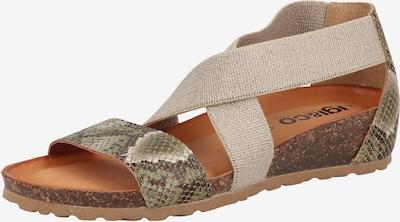 IGI&CO Sandale in beige / grün, Produktansicht