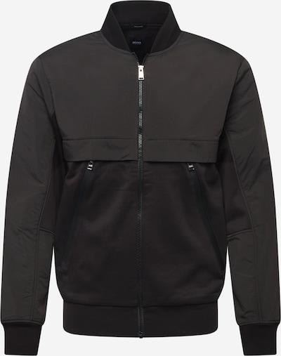BOSS Tepláková bunda 'Skiles 37' - čierna, Produkt