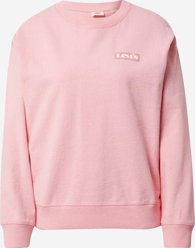 LEVI'S Sweatshirt in de kleur Rosa / Oudroze / Wit, Productweergave