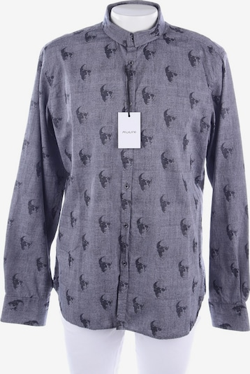 Aglini Hemd in XS in anthrazit / schwarz, Produktansicht