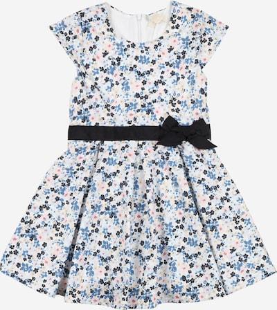 ESPRIT Kleid in rauchblau / kobaltblau / pastellgelb / rosa / weiß, Produktansicht