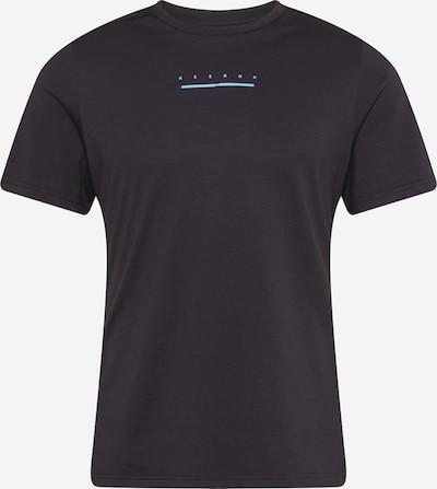 Reebok Sport Funkčné tričko - svetlomodrá / žltá / čierna / biela, Produkt