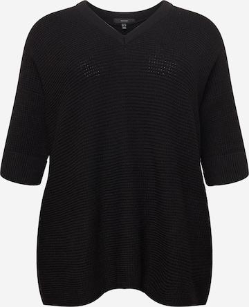 Pull-over 'LEANNA' Vero Moda Curve en noir
