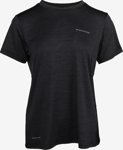 ENDURANCE Tehnička sportska majica 'Maje' u crna melange, Pregled proizvoda