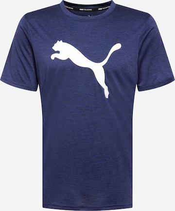 PUMA Funktsionaalne särk 'Heather Cat', värv sinine