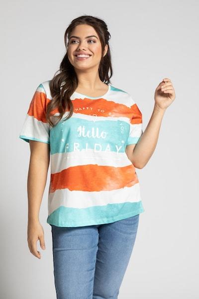 Ulla Popken T-Shirt in mischfarben: Frontalansicht