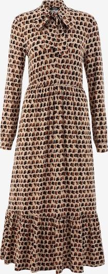 Aniston SELECTED Kleid in beige / braun / schwarz, Produktansicht