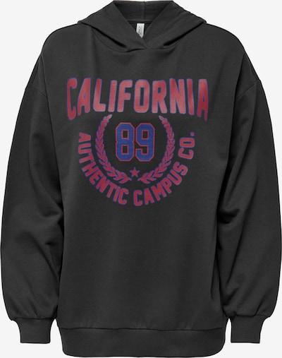 ONLY Sweatshirt 'Dreamer' in blau / pitaya / schwarz, Produktansicht