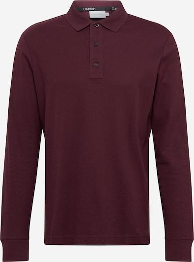 Calvin Klein Majica   vinsko rdeča barva, Prikaz izdelka