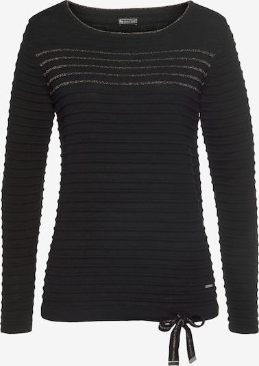 LAURA SCOTT Pullover in gold / schwarz, Produktansicht