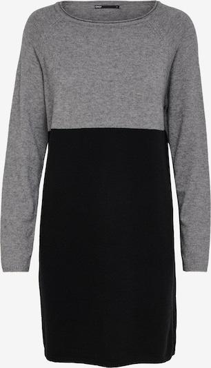 ONLY Kleid in grau / schwarz, Produktansicht