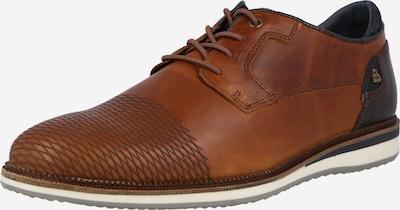 BULLBOXER Šnurovacie topánky - tmavomodrá / gaštanová / koňaková, Produkt