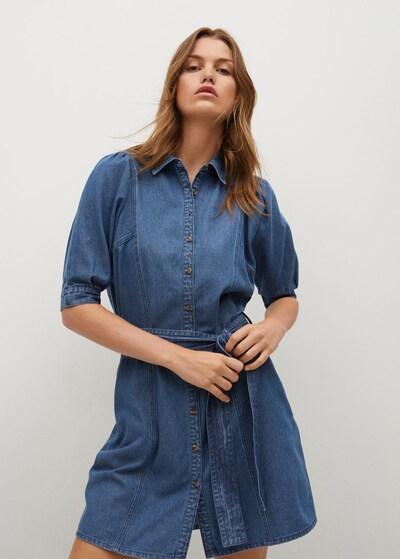 MANGO Kleid 'Gaia-H' in blue denim, Modelansicht