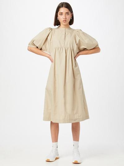 Esmé Studios Avara lõikega kleit 'Flora' beež, Modellivaade