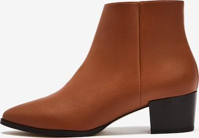 NINE TO FIVE Ankle Boots 'Bila' in karamell, Produktansicht