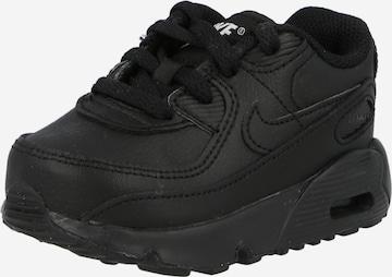 melns Nike Sportswear Brīvā laika apavi 'AIR MAX 90 LTR (TD)'