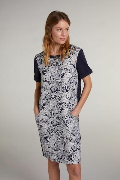 OUI Kleid in blau / weiß, Modelansicht