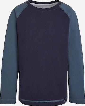ELKLINE Shirt 'TWO TONE' in Blau