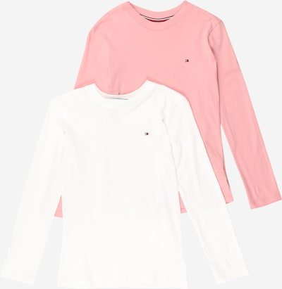 TOMMY HILFIGER Shirt in rosa / weiß, Produktansicht