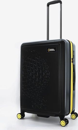 National Geographic Koffer 'Globe' in gelb / schwarz, Produktansicht