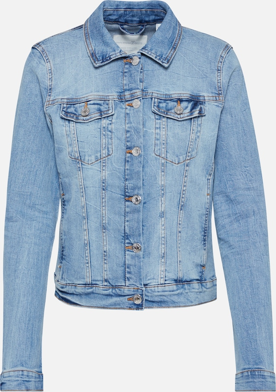 TOM TAILOR DENIM Jeansjacke in blue denim, Produktansicht