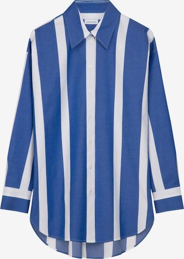 SEIDENSTICKER Bluse in blau / weiß, Produktansicht