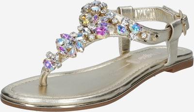 Sandale BUFFALO pe auriu, Vizualizare produs