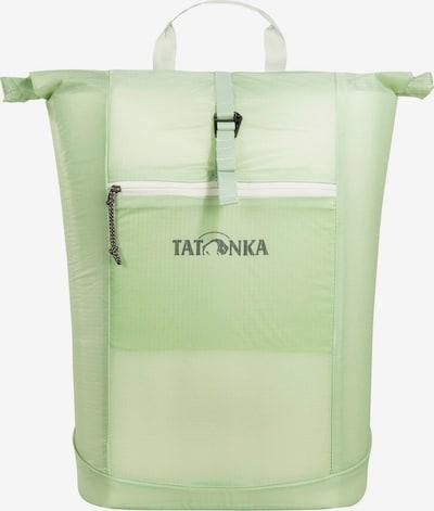 TATONKA Rucksack 'SQZY' in dunkelgrau / pastellgrün, Produktansicht