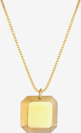 ELLI Halskette Geo in gold, Produktansicht