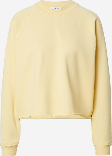 LeGer by Lena Gercke Sweatshirt 'Tessa' i gul, Produktvisning