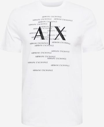 T-Shirt ARMANI EXCHANGE en blanc
