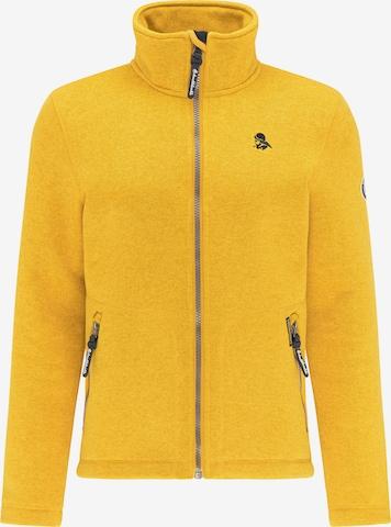Schmuddelwedda Strikkejakke i gul
