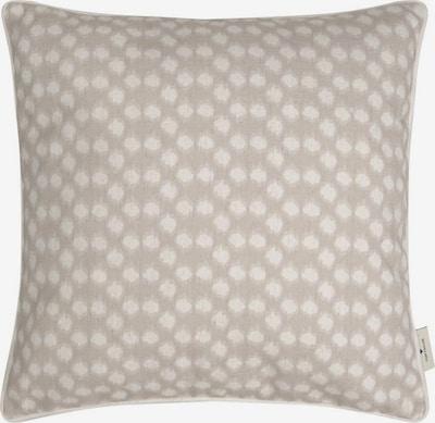 TOM TAILOR Kissen in beige / weiß, Produktansicht